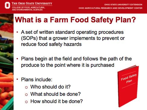 Farm Food Safety Plan